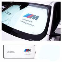 For BMW M PERFORMANCE M SPORT CAR WINDSHIELD SUNSHADE