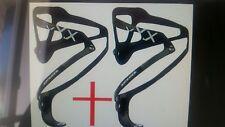 2 ripeto 2 portaborraccia Bontrager xxx full carbon fiber bottle cage 22gr
