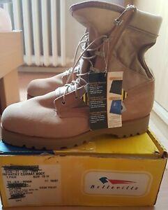 US Army Belleville 220DES ST Men's Hot Weather Steel Toe Desert  Boot,US  10W