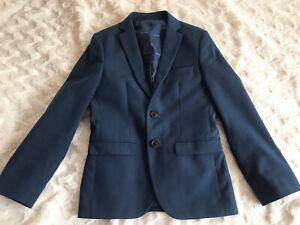 BOYS BLAZER JACKET Suit Smart NEXT Age 9 Years Blue Signature VGC