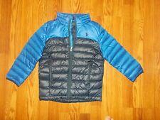 NEW POLO RALPH LAUREN Boy's Size 5 DOWN Ski Jacket Coat Lightweight Blue NWT