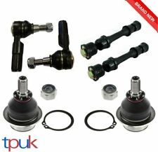 FORD TRANSIT FRONT SUSPENSION KIT 2 BALL JOINTS 2 DROP LINKS 2 TRACK ROD ENDS