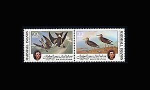 MARSHALL IS, Sc #64a, MNH, 1985, Audubon Bicentennial, FAG-A