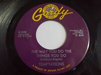 The Temptations The Way You Do The Things Yo Do / Just Let Me 45 Vinyl Record
