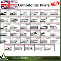 Orthodontist Pliers Dental Tooth Braces Arch Wire Bending Utility Loop Forming