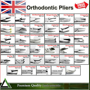 Orthodontist Pliers Dental Tooth Braces Arch Wire Bending Utility Loop Forming