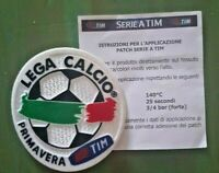 patch toppa LEGA CALCIO TIM PRIMAVERA PALLONE IN STOFFA