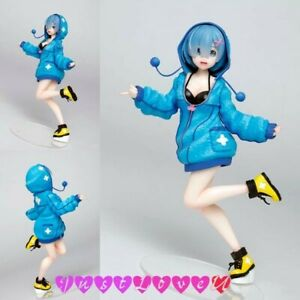 Japanisch Anime Re: ZERO-Starting Life in Another World Rem Figur Blue Clothes