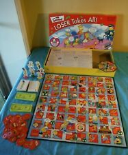 2001 The Simpsons Loser Takes All Rose Art 20th Century Fox Board Game