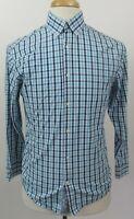 ORIGINAL PENGUIN Slim Fit 100% Cotton Shirt, 15 x 32/33, Multi-Color Checks