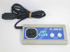 Msx joystick Mat Joy Card HC 62-2 Hudson Japan Game 2109
