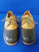 Duck Boots Ankle Size 9 Waterproof Leather Rubber Steel Shank