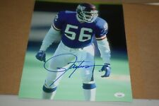 NEW YORK GIANTS LAWRENCE TAYLOR #56 SIGNED 11x14 PHOTO HOF 1999 JSA CERTIFIED