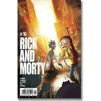 ONI PRESS Mexico RICK AND MORTY #16 SDCC Variant Cover