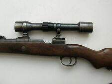 Rare mauser K 98 sniper scope K98k ZF39 dow WAFFEN dienstglas double claw mount