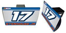 NASCAR #17 RICKY STENHOUSE Metal Trailer Hitch Cover-NASCAR Hitch Cover