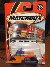 2001 Matchbox Earth Crunchers Road Roller Paver #36