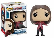 Captain America Civil War - Funko Pop 133 - Scarlet Witch - Bobble Head Figure