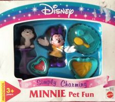 DISNEY MINNIE MOUSE MINNIE PET FUN NEW/SEALED BOX BY MATTEL SIMPLY CHARMING