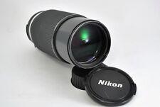 Exc* Nikon Zoom NIKKOR Ai-S 80-200mm f4 MF Telephoto Lens