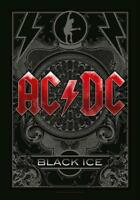 AC/DC FLAGGE FAHNE BLACK ICE POSTERFLAGGE STOFF POSTER FLAG