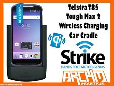 STRIKE ALPHA TELSTRA T85 TOUGH MAX 2 WIRELESS CHARGING CAR CRADLE - SECURE HOLD