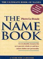 The Name Book,Pierre le Rouzic