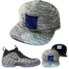 Mitchell & Ness NHL New York Rangers Snapback Hat Nike Air Foamposite Wool Cap