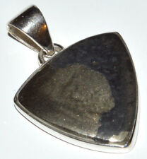 Pyrite In Magnetite 925 Sterling Silver Pendant Jewelry JJ11154