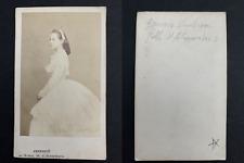 Maria Alexandrovna, grande duchesse de Russie Vintage albumen print, CDV.La gr