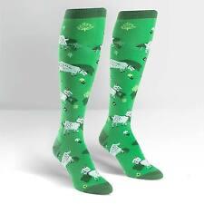 Sock It To Me Women's Funky Knee High Socks - Fresh off the Goat