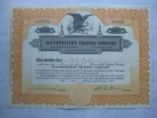 Southwestern Trading Company   A 1923  Arizona Corporation