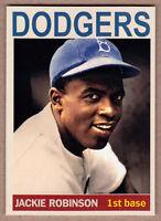 Jackie Robinson '47 Brooklyn Dodgers Monarch Corona Private Stock #24