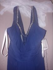 Jenny Packham, NWT Navy Gown, size 6.