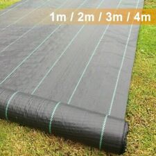 More details for heavy duty weed control fabric membrane ground cover mat garden landscape 100gsm