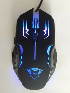 Gaming Mouse Trust Rava GXT 108 for PC and Laptop black Colour.