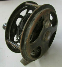 Vintage 1935 PFLUEGER No.1555 Brass 'SAL-TROUT' FLY FISHING REEL - VERY RARE!