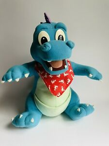 "VTG Dragon Tales Ord 12"" 1999 Playskool Stuffed Plush Toy Blue Dragon Talks"