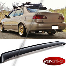 For 98-01 Corolla JDM Style Acrylic Plastic Rear Roof Widow Wing Visor