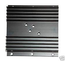 100pc Aluminum Heatsink Heat Sink AK-109 L=100mm TO-3 x1 Size=100x101x26mm Black