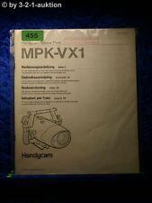 Sony Bedienungsanleitung MPK VX1 Handycam Marine Pack (#0455)