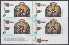 CANADA #1669 45¢ Christmas Madonna and Child LR Plate Block MNH