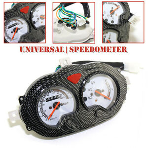 Motorcycle Scooter Odometer Speedometer Assembly Instrument Gauge For GY6 150cc