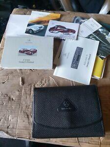 Mercedes C Class W203 Owners manual / handbook pack & wallet saloon & estate AMG