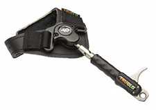 New listing TRUGLO NITRUS Ultra-Smooth Dual Jaw Archery Release, Black Leather Strap,