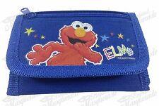Elmo Teen Boys Tri-Fold Wallet - Blue