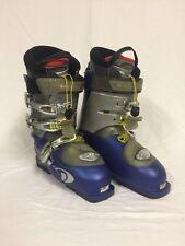 Salomon Ellipse 10.0 Men's Ski Boots US Size 8.5, 306mm-26/26.5 BLUE - Excellent