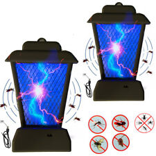 2Pc Uv Light Bug Zapper Insect Controller Mosquito Fly Pest Bug Trap Lamp Killer