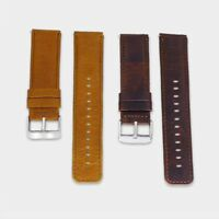 20/22mm Quick Release Leather Watch Band Wrist Strap For Samsung Gear S2 S3