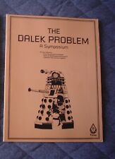 DR. WHO RPG Role Playing Game BOOK - THE DALEK PROBLEM - Excellent Condition